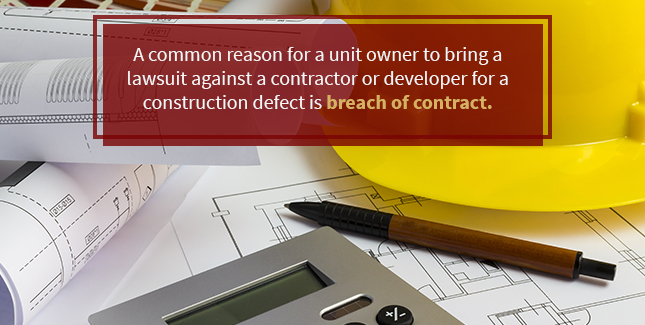 Condominium Disputes and Construction Defects